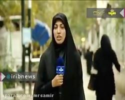 طرح گل نمدی طرح رومیزی دستگیری زهرا لاریجانی - آی-ویدئو