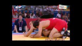 کسب مدال برنز کشتی آزاد ، وزن 84 کیلوگرم توسط احسان لشگری