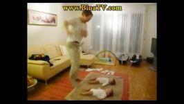 بچه ارتشی.آموزش رژه