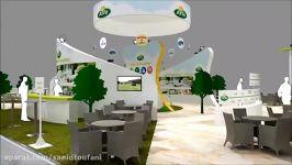 8 غرفه سازی نمایشگاه سعید طوفانی  پشتیبانی غرفه