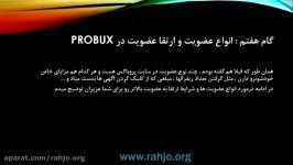 انواع عضویت ارتقا عضویت در probux