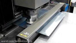 برش فرم پانچ رول ورق توسط پانچ CNC