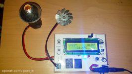 پروژه دانشجویی کنترل دمای محیط در بازه قابل تنظیم