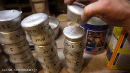 ذوب قطعات آلومینیومی اسقاطی قالب گیری آنها در منزل