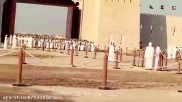 خوش امد گویی مردم امارات به ملك سلمان پادشاه عربستان