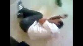 شکنجه جوان سوریه ای بدلیل طرفداری بشار اسد