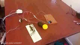پروژه AVR  راه اندازی چراغ اخطار سنسور مادون قرمز