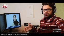 سوتی عجیب مجری تا پشت صحنه خنده دار تست بازیگری گویندگی دختر پسرها + فیلم