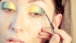 ارایش چشم رنگ سبز آموزش تصویری آرایش چشم به رنگ سبز دودی ارایش مناسب لباس سبز