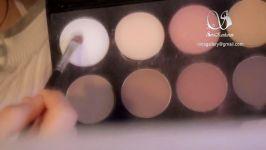 چطور زیبا آرایش کنیمچگونه آرایش کنیمآرایش ویدئو آموزش ویدیو آموزش آرایش صورت