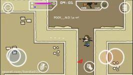گیم پلی بازی Mini Militia به همراه دوستان