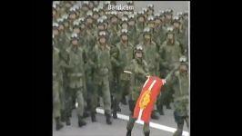 رژه بسیاردیدنی ارتش ژاپن موزیک مخصوص رژه چش بادومی ها