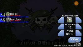 بازی mini militia