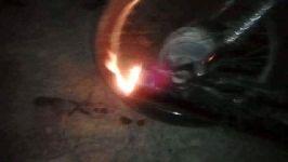 اگزوز موتور سیکلت