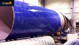 دستگاه تولید لوله های بسیار بزرگ مقواییجامبو لوله