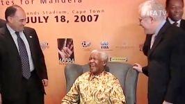 ادای احترام به نلسون ماندلا