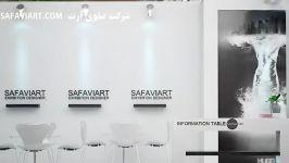 غرفه سازی شرکت صفوی آرت  غرفه های سفید