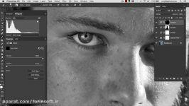 آموزش تبدیل کردن عکسهای معمولی به عکسهای هنری سیاه سف