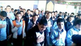 مراسم عاشورای حسینی در دبیرستان حاج عبد الحسین معارف