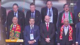 سرود ملی قسمت هشتم. سرود ملی پرتغال توسط تیم ملی پرتغال شبکه تماشا تی وی