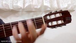 نُت های روی گیتار