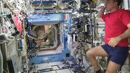 صندل هوشمند ناسابرای فضانوردان ایستگاه فضایی بین المللی