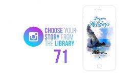 پروژه افترافکت پست استوری اینستاگرام Storyteller