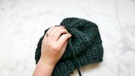 آموزش بافت کلاه بافتنی زیبا  کلاه بافتنی دومیل