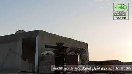 برخورد موشک تانک سرنشین تانک ارتش