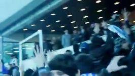 فریاد خلیج فارس ایران توسط تماشاگران استقلال مقابل سفیر سعودی  مرجع خبری استقلال
