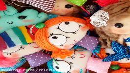 دست سازهای نمدی عروسک نمدی سرکلیدی نمدی دست سازهای ایرانی دست سازهای میچکا