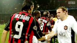 دور رفت نیمه نهایی لیگ قهرمانان اروپا 2006 2007 آث میلان  منچستریونایتد