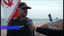 صحبت های فرمانده کل سپاه درباره امنیت تنگه هرمز خلیج فارس