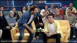 خندوانه ادابازی حامد آهنگی محمد نادری هنگ كرد بیچاره حامد