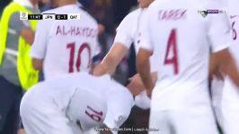 خلاصه بازی عربی قطر 3  ژاپن 1  قهرمانی قطر در جام ملت های آسیا 2019