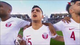 مراسم اهدای جام به قطر در فینال جام ملت های آسیا 2019