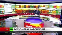 فلزات سنگین در نوشیدنی ها آب میوه ها فراوان است