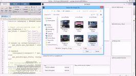 فیلم پروژه تشخیص پلاک خودرو matlab