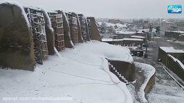 مناظر برفی آسبادهای نشتیفان