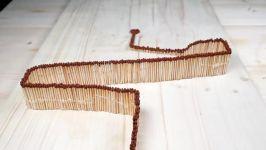 شگفت انگیز ترین دومینو جهان چوب کبریت