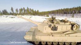 استحکام تانک ابرامز در برابر گلوله ناو جنگی تانک