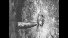 حرکت آهسته برخورد گلوله به زره فولادی