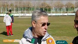 گفت وگو کرانچار آخرین وضعیت اردوی تیم امید