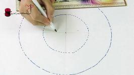 یقه حلزونی  آموزش خیاطی بحرالعلوم  کانال دوختنی