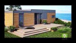 زیبا ترین طرح های چوبی ساختمان  طرح های ترمووود  طرح ترموود چوبی ترمووود