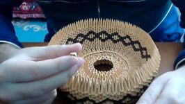 اوریگامی سه بعدی ظرف میوه  آموزش ظرف کاغذی  کاردستی