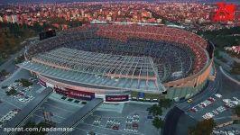 گیم پلی کامل PES 2019 شماره دوم ...بارسلونا ..بارسلونا..آنلاین