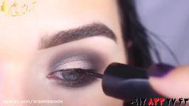 ترفند کشیدن سایه چشم دودی + آموزش آرایش حرفه ای چشم