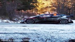 رالی بر روی برف رالی مونت کارلو