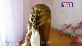 مدل بافت موهای زیبای دخترانه برای موهای بلند